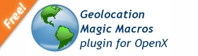Geolocation Magic Macros