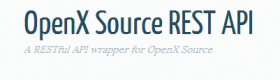 OpenX Source REST API